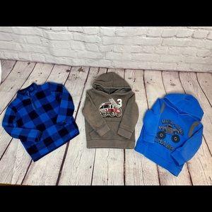 Other - Bundle Sweaters Sweatshirt Toddler Boy Size 3T